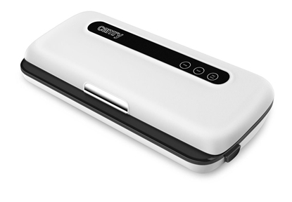 Attēls no Camry Vacuum sealer CR 4470 Automatic, White, 110 W, 5 bags with dimensions of 20 x 30 cm; 1 roll of 20 x 200 cm film; vacuum tube hose.