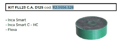 Attēls no FABER ogles filtrs LONG LIFE - KIT FLL23 C.A. D125