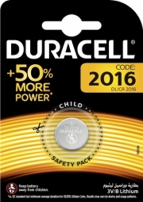 Picture of  Baterija Duracell DL2016 3V Lithium 1pack.