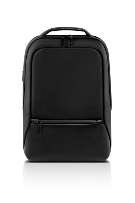 "Picture of Dell Premier Slim Fits up to size 15 "", Black with metal logo, Shoulder strap, Notebook carrying backpack"