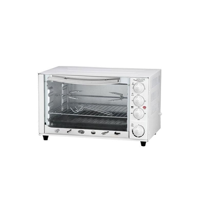 Изображение Adler AD6001 toaster oven 35 L White Grill 1500 W