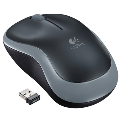 Attēls no Logitech M185 mouse RF Wireless Optical GREY