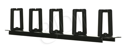 Изображение Alantec PK009 cable organizer Cable holder Wall Black 1 pc(s)