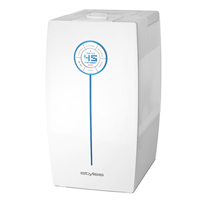 Attēls no Air Humidifier Stylies HAU4601 Humidification capacity 400 ml/hr, 65 - 160 m³, 30 W, white, Water tank capacity 7,5 L