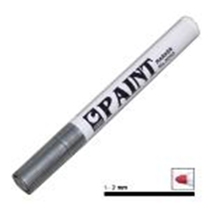Attēls no *Perman.marķieris PAINT sudrabs,  1-2mm,  PAINT 2000-8