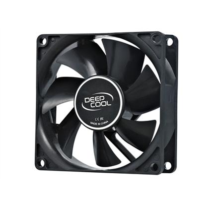 Attēls no 80mm case ventilation fan, 2 Pin; hydro bearing, deepcool