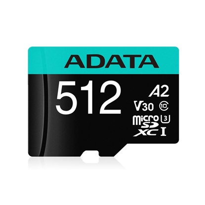 Picture of ADATA 512GB Micro SDXC UHS-I + Adapter
