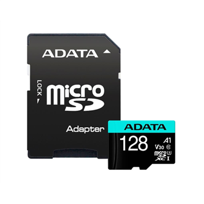 Picture of ADATA 128GB Micro SDXC UHS-I + Adapter