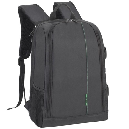Attēls no CAMERA ACC BACKPACK GR. MANTIS/BLACK 7490 (PS) RIVACASE