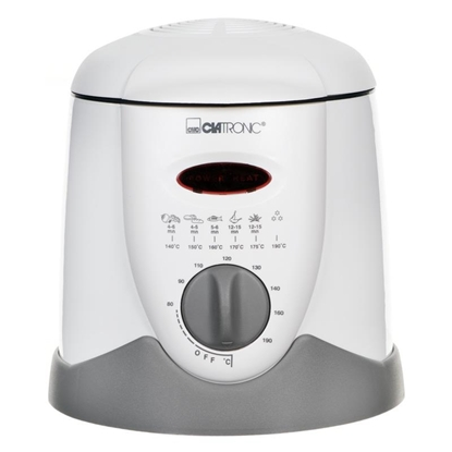 Изображение Clatronic FFR 2916 fryer 1 L Single White Stand-alone