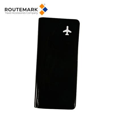 Изображение Routemark HP Kompakts un nemirkstošs dokumentu glabāšanas maks ar Speciālu dizainu Melns