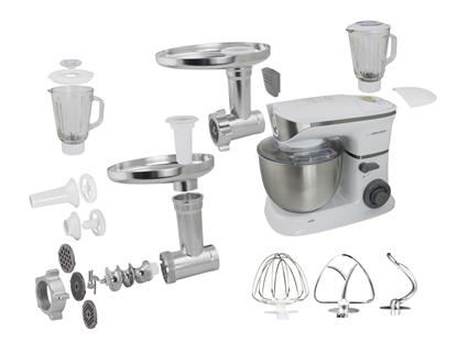 Picture of Esperanza EKM025 food processor 5 L Stainless steel,White 1000 W