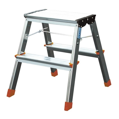 Attēls no Step ladder double-sided foldable Krause Treppy 130020