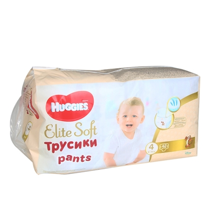 Изображение Autiņbiksītes Huggies Elite Soft Pants 4, 9-14kg 42gab.