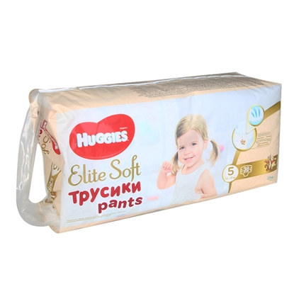 Изображение Autiņbiksītes Huggies Elite Soft Pants 5, 12-17kg 38gab.