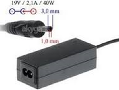 Изображение DIGITALBOX   AC power adapter 19V/2.1A 40W connector 3.0x1.1mm Samsung