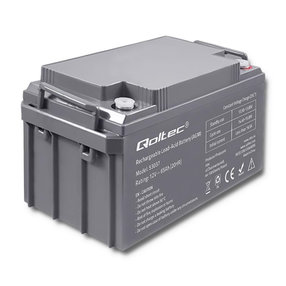 Picture of Akumulator AGM | 12V | 65Ah | max. 19.5A