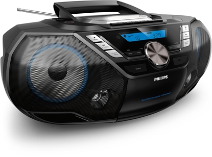 Picture of Philips CD Soundmachine AZB798T/12, Bluetooth, CD, MP3-CD, USB, DAB+, FM, Cassette, 12W
