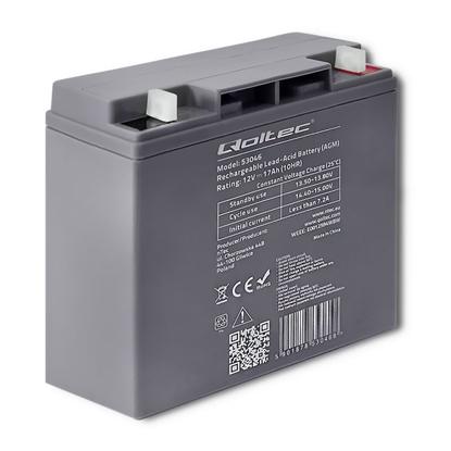 Attēls no Akumulator AGM 12V | 17Ah | max. 255A