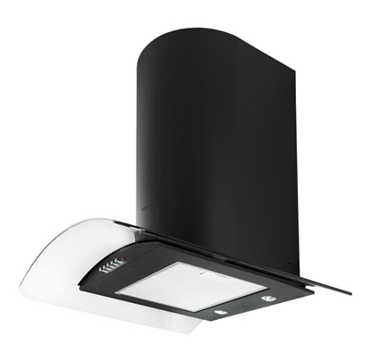 Изображение Akpo WK-4 Largo Eco 450 m3/h Wall-mounted Black,Stainless steel