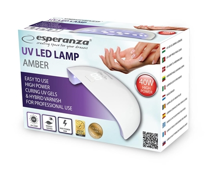 Picture of Esperanza EBN009 nail dryer UV + LED 40 W