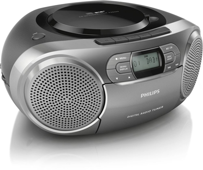 Picture of Philips AZB600/12 portable stereo system Digital 2 W Grey