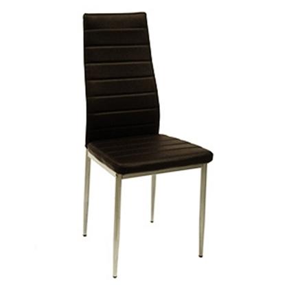 Attēls no Krēsls DEBI 42x52xH96cm t.brūns