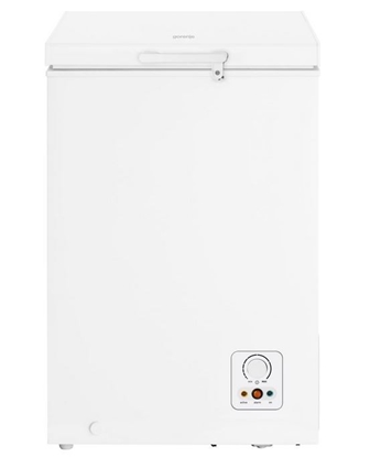Picture of Gorenje Freezer FH101AW Chest, Height 84 cm, Total net capacity 95 L, A+, Freezer number of shelves/baskets 1, White, Free standing,