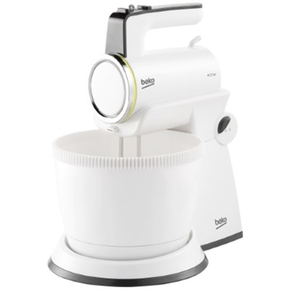 Picture of BEKO Mixer HMM7422W, 350W, turbo function, White color