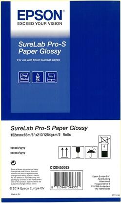 Изображение 1x2 Epson SureLab Pro-S Paper BP Glossy 152 mm x 65 m 254 g