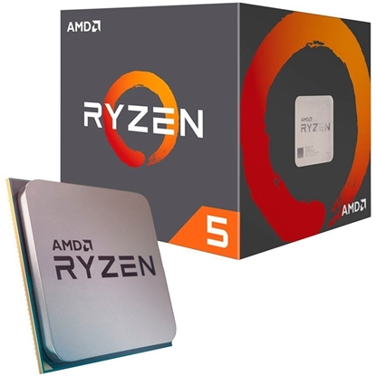 Attēls no AMD   CPU Desktop Ryzen 5 6C/12T 1600 (3.4/3.6GHz Boost,19MB,65W,AM4) box, with