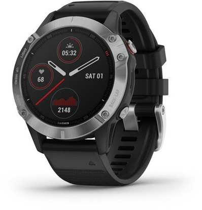 Picture of Garmin fenix 6 silver/black