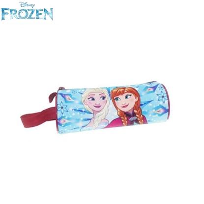 Изображение Disney Frozen Apaļās formas Zīmuļu penālis ar rāvējslēdzēju (20x6.5cm)