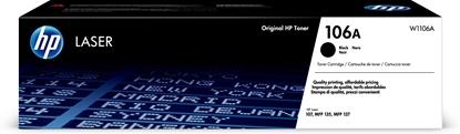 Attēls no HP 106A Black Original Laser Toner Cartridge (1000 pages)
