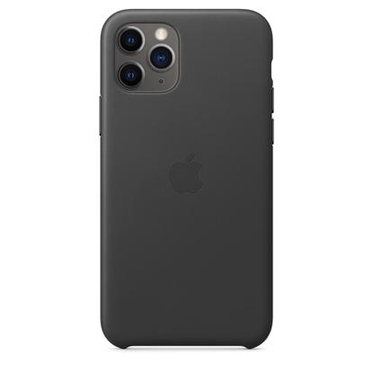 Attēls no Apple iPhone 11 Pro Leather Case Black                  MWYE2ZM/A