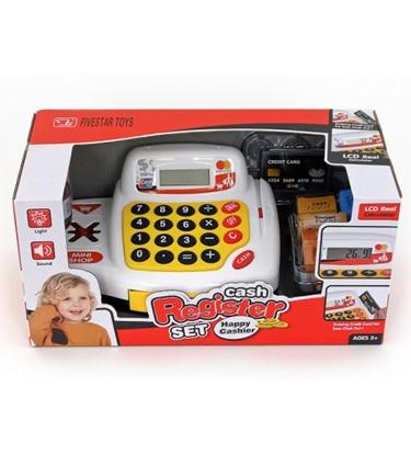 Picture of Bērnu kases aparats ar LCD ekrānu un produktiem 500693