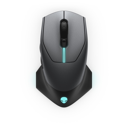 Изображение Dell Alienware Gaming Mouse AW610M  Wireless wired optical, Dark Grey