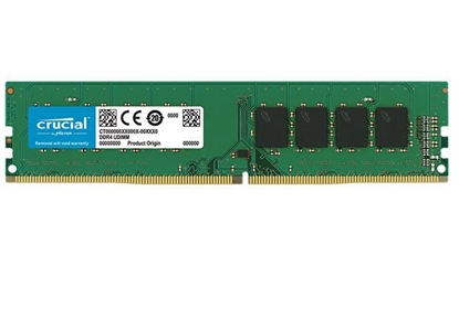 Attēls no Crucial 8 GB, DDR4, 3200 MHz, PC/server, Registered No, ECC No
