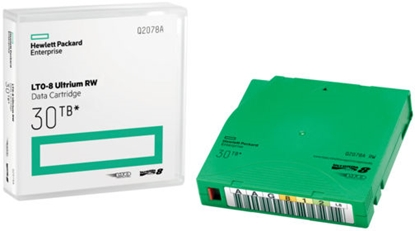 Attēls no !HPE LTO-8 30TB RW Data Cartridge Q2078A