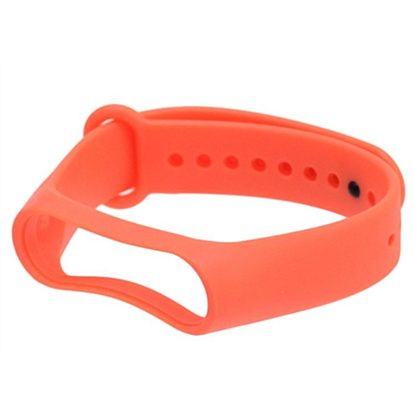 Изображение Xiaomi MYD4129TY, Mi Smart Band 4/3 Strap, TPE material, soft and comfortable to wear, Orange