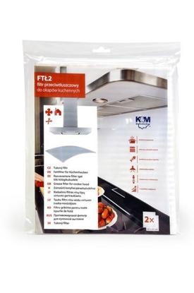 K&M Universālais filtrs virtuves tvaika nosūcējam