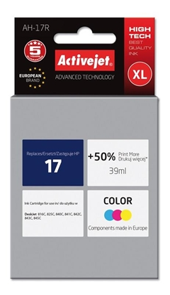 Изображение Activejet ink for Hewlett Packard No.17 C6625A