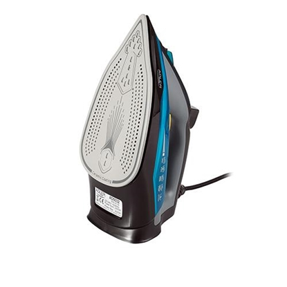 Attēls no Adler AD 5032 iron Dry iron Ceramic soleplate Black, Blue, Gray 2400 W