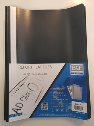 Picture of AD Class Report file 100/150 Black, pouch 25 pcs