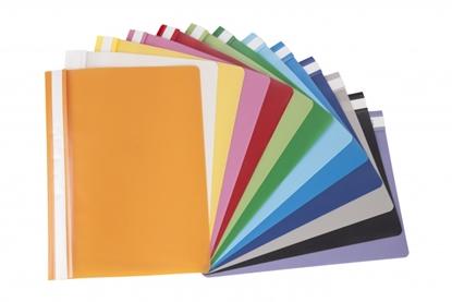 Изображение AD Class Report file 100/150 yellow, pouch 25pcs