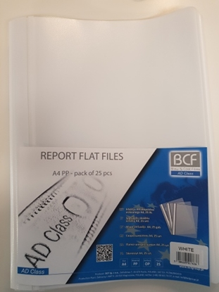 Picture of AD Class Report file 100/150 White, pouch 1pcs