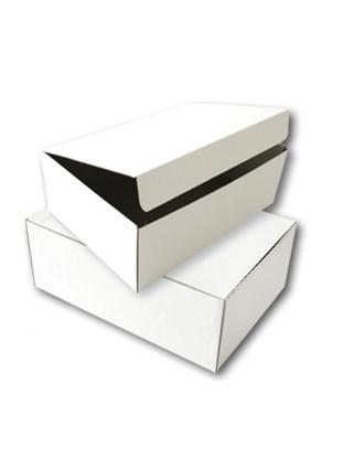 Attēls no Archyvinė dėžė SMLT mikrogofro kartono, balta 120x355x255mm
