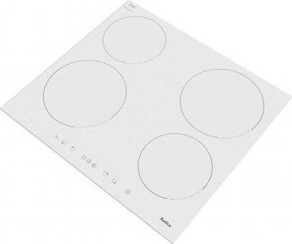 Picture of Amica PI6140PWTU hob White Built-in Zone induction hob 4 zone(s)