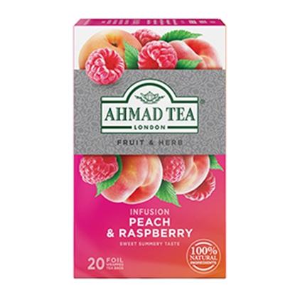 Picture of AHMAD Augļu un zāļu tējas maisījums     Avene ar persiku, 20 tējas maisiņi folijas iepakojumā