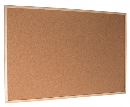 Attēls no Esselte Pinboard Cork Standard wood frame 40 x 60 cm